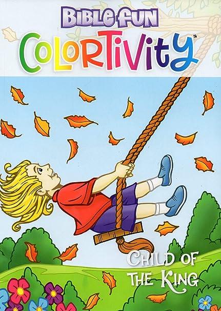 Amazon com: Colortivity Bible Fun - Read and Color Coloring