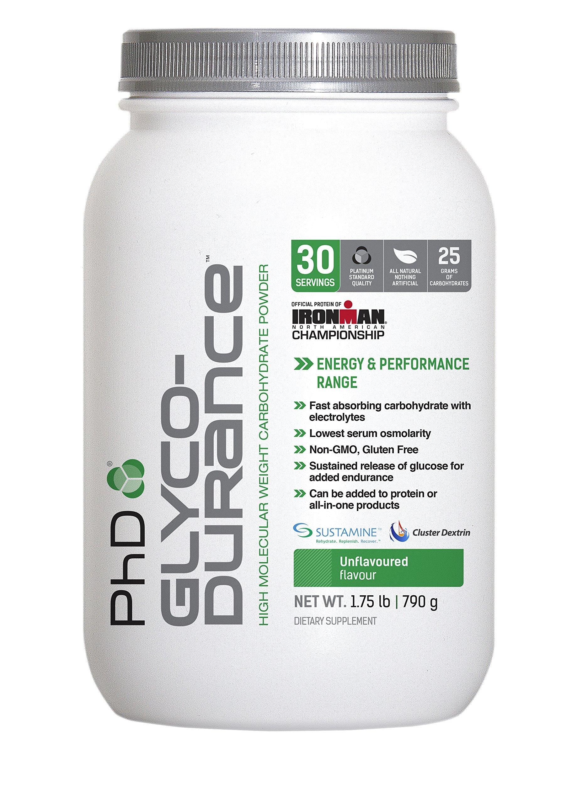 Phd Nutrition Glycodurance Powder, Unflavored, 790 Gram