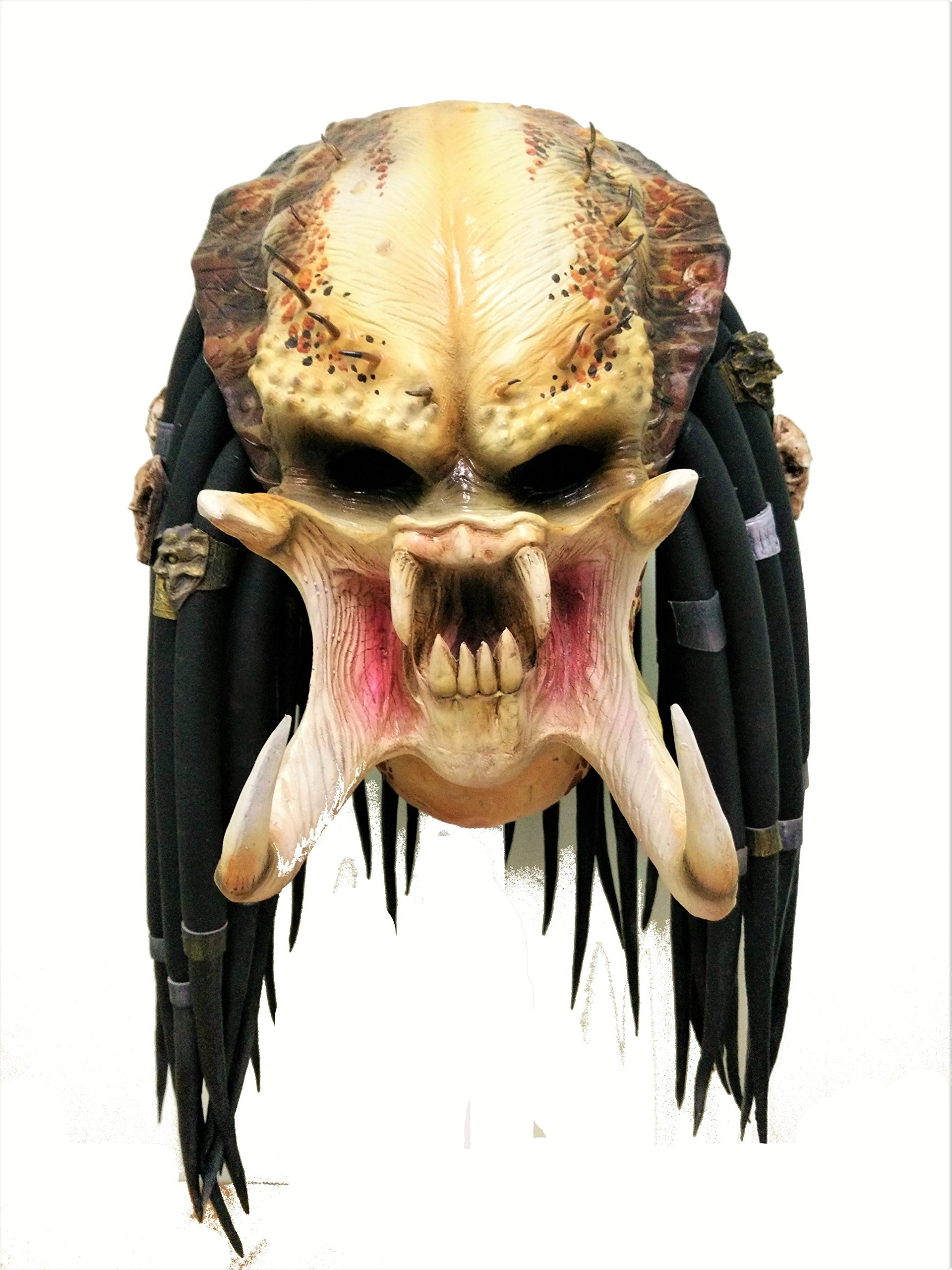 Predator Replica Latex Mask Adult Size Halloween Cosplay Costume  sc 1 st  Amazon UK & Predator Costume: Amazon.co.uk