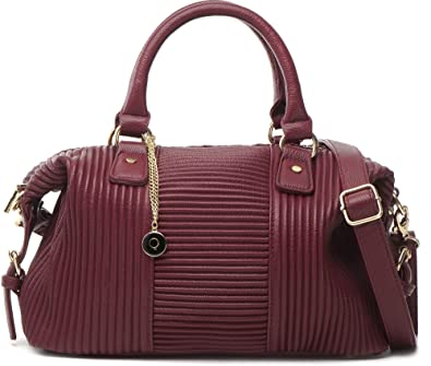 303cb79512 MASQUENADA women s shoulder bag handbag. Colour  wine red (Bordeaux). 33x24.