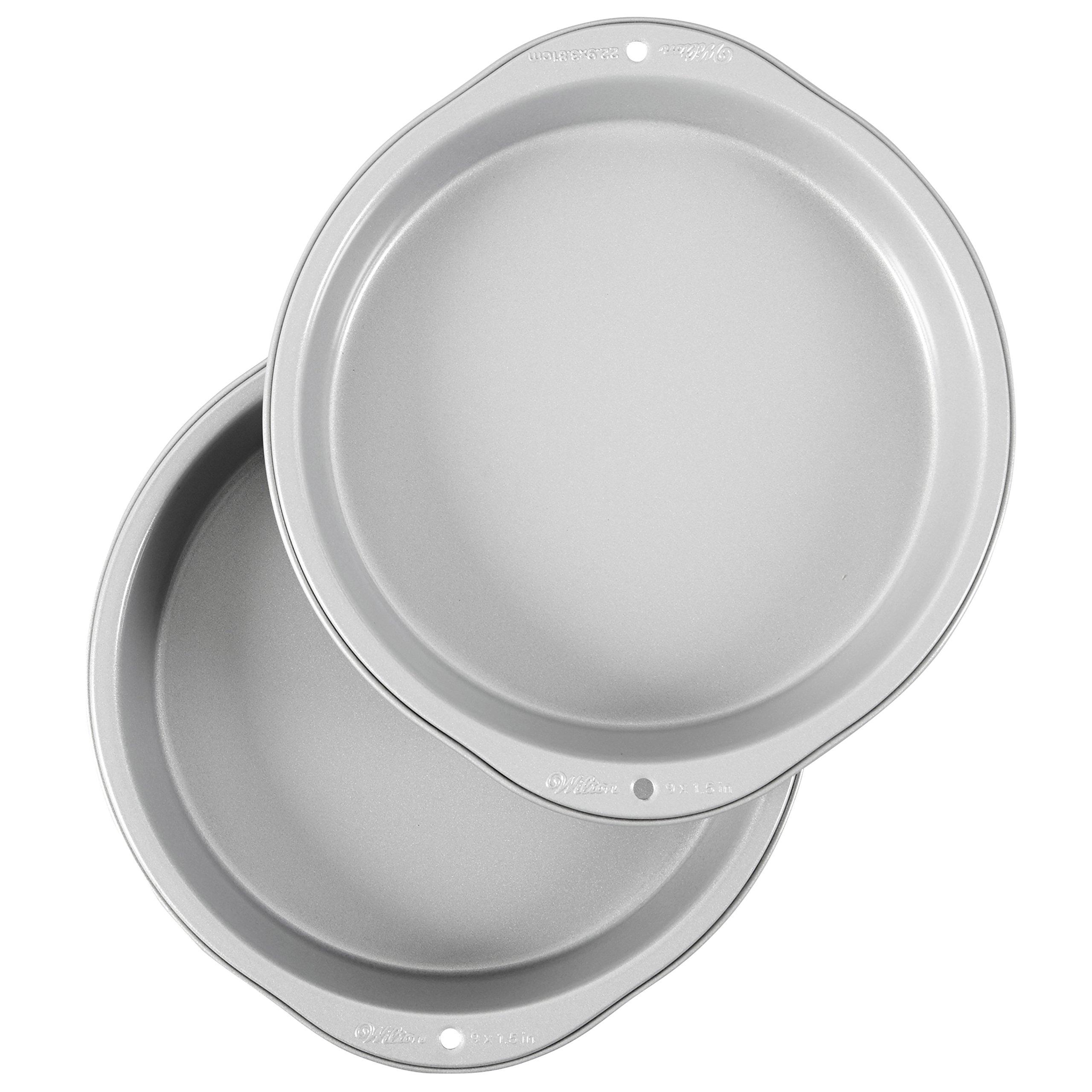 Wilton Recipe Right Non-Stick 9-Inch Round Cake Pans Set, 2-Piece by Wilton