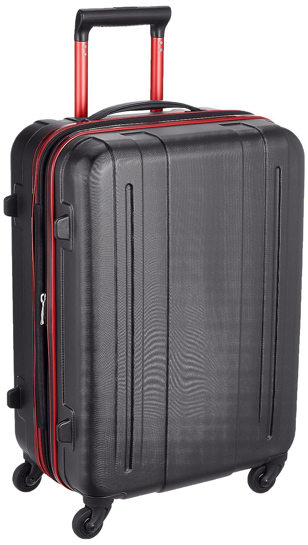 [サンコー] WIZARD スーツケース ウィザード 50L 中型 大容量 エキスパンダブル 62 cm 3.5kg B071SKF7WS ブラックレッド