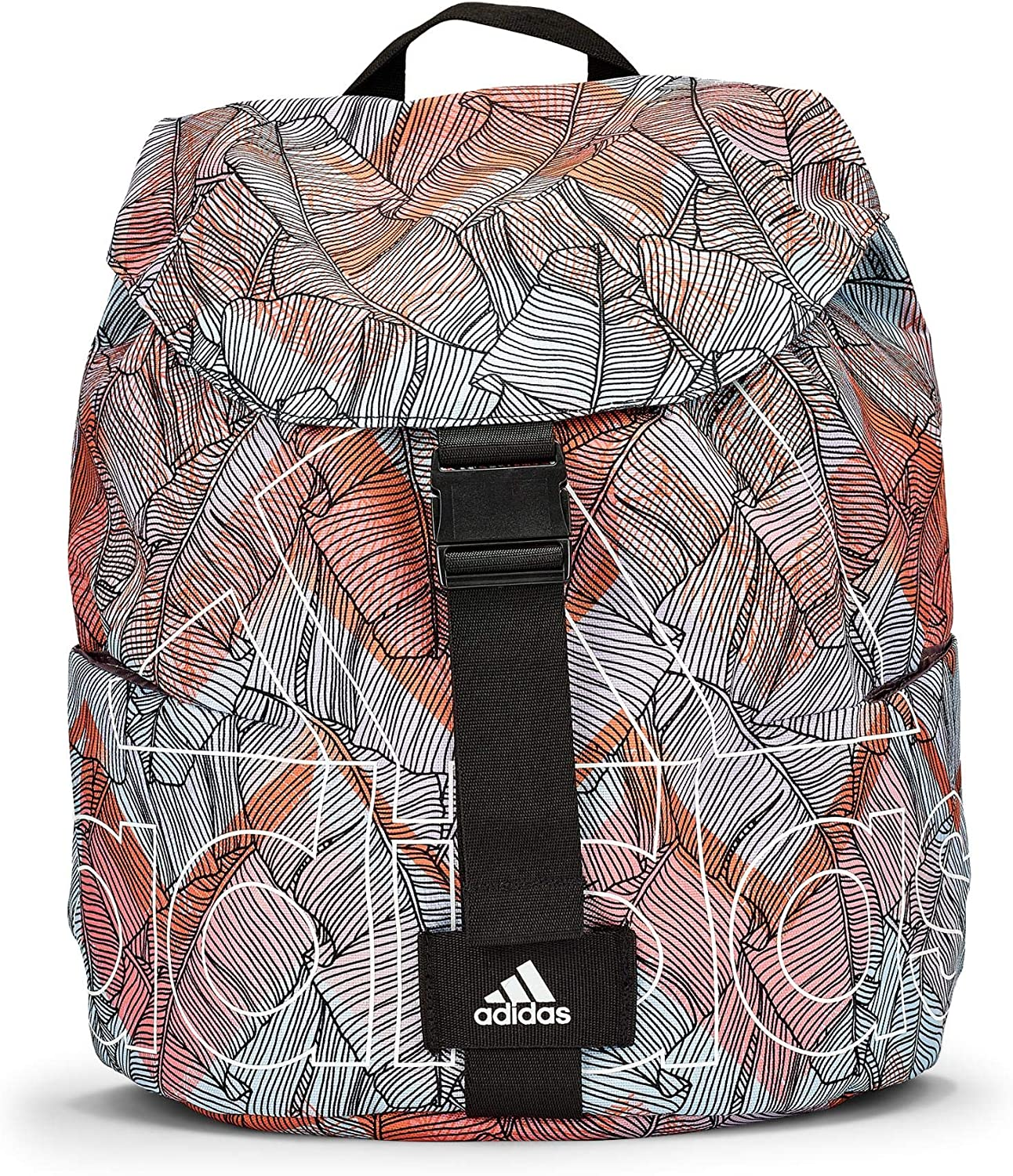 adidas W FLA SP BP G Backpack, Women, Matcie/Rosglo/Black/White, One Size