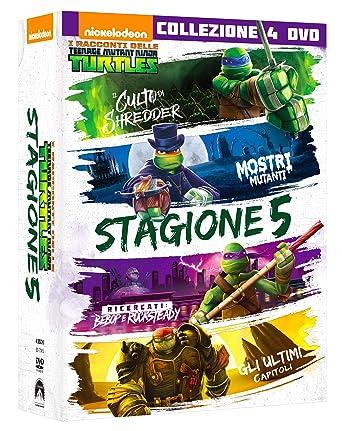 Teenage Mutant Ninja Turtles - Stagione 05 4 Dvd Italia ...