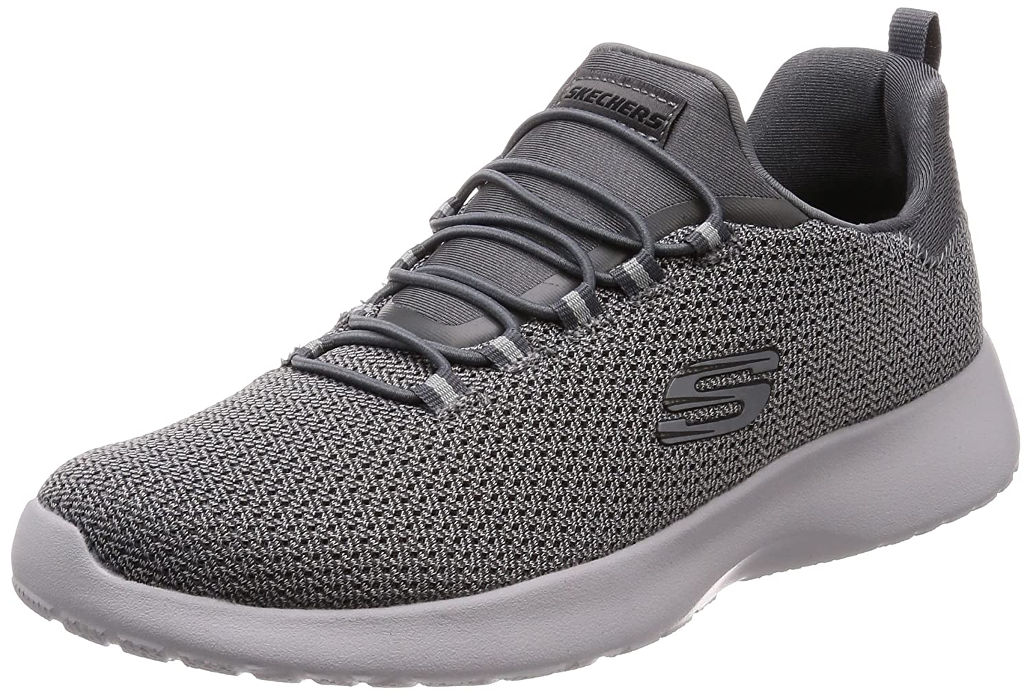 Skechers Dynamight Mens Casual Sport Trainer  Holzkohle