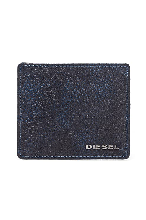 Diesel Tarjetero JOHNAS I, Color: Azul Oscuro, Tamaño: One Size