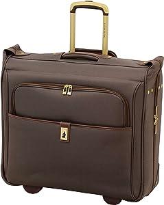 "London Fog Kensington II 44"" Wheeled Garment Bag, Bronze"
