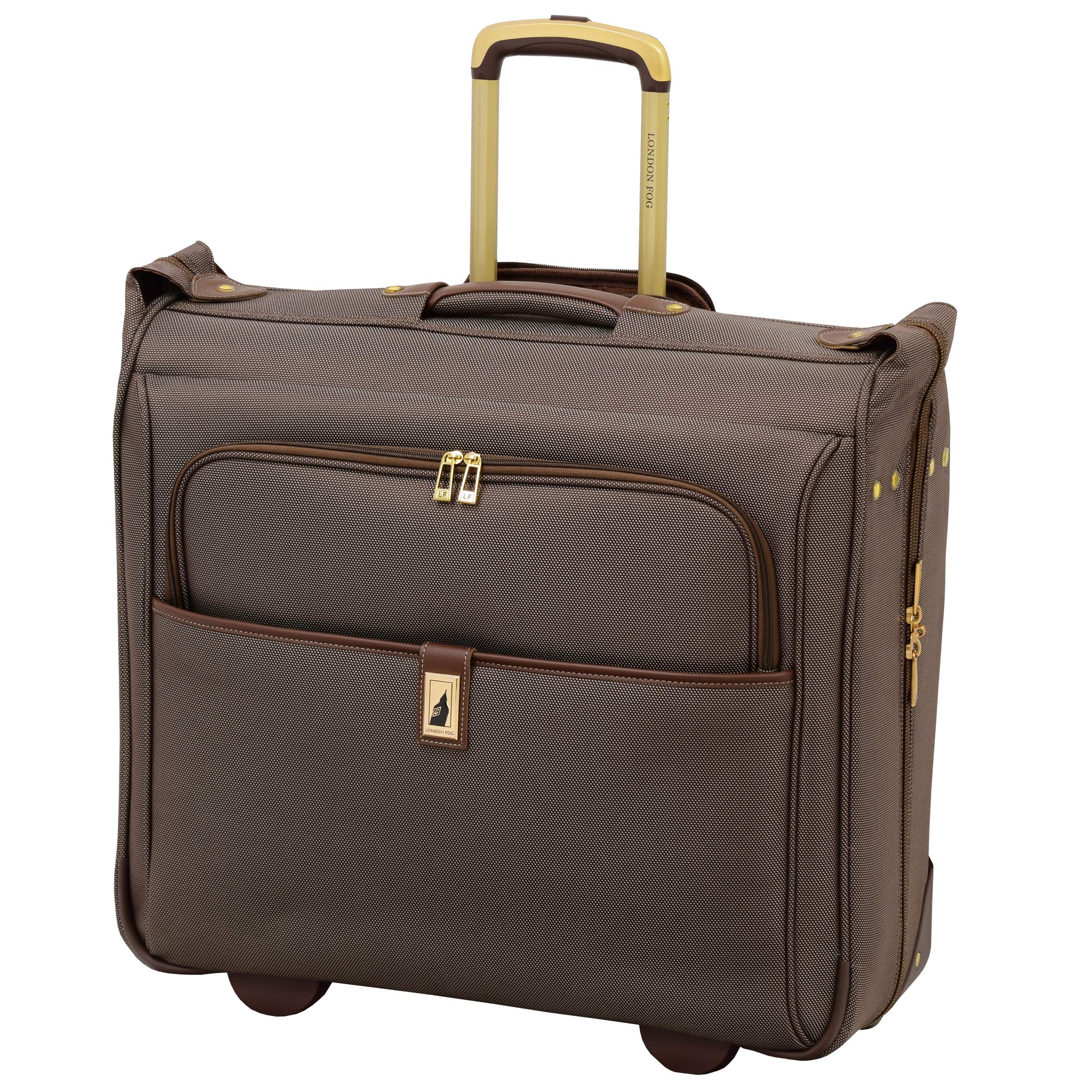 London Fog Kensington II 44'' Wheeled Garment Bag, Bronze by London Fog