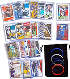Football Cards: Fantasy RBs (29) Chubb Henry McCaffrey Cook Elliott Fournette Hyde Mack Ingram Mixon Jones Gurley Peterson Michel Kamara Bell Gore Howard Gordon Freeman McCoy MichelJohnson Lewis Ajayi