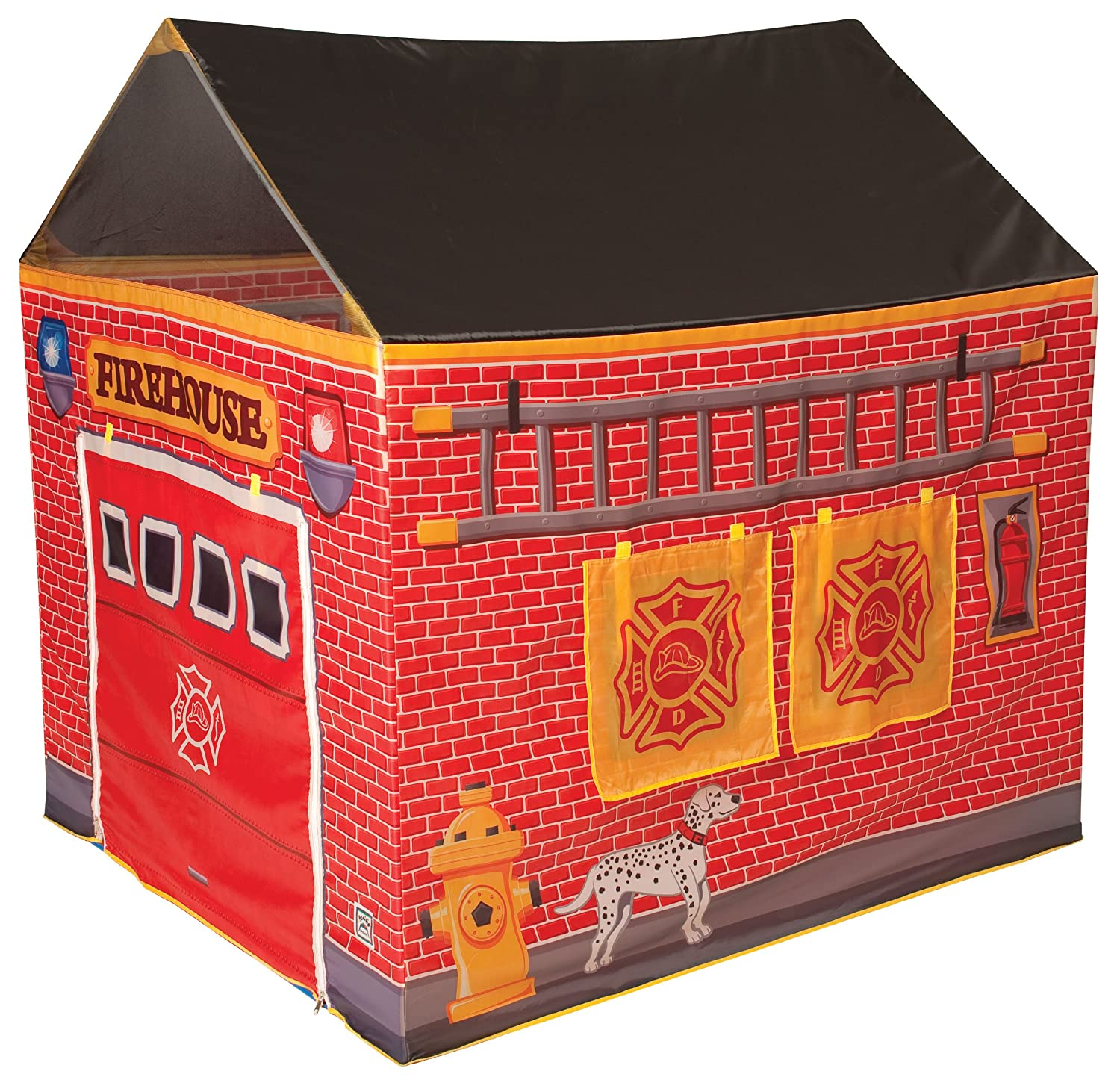 sc 1 st  Amazon.com & Amazon.com: Fire Station House Tent: Toys u0026 Games