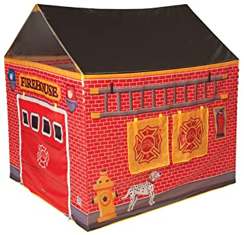 Fire Station House Tent  sc 1 st  Amazon.com & Amazon.com: Fire Station House Tent: Toys u0026 Games