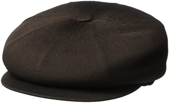 Kangol Mens Tropic Spitfire Ivy Cap, Dark Brown S