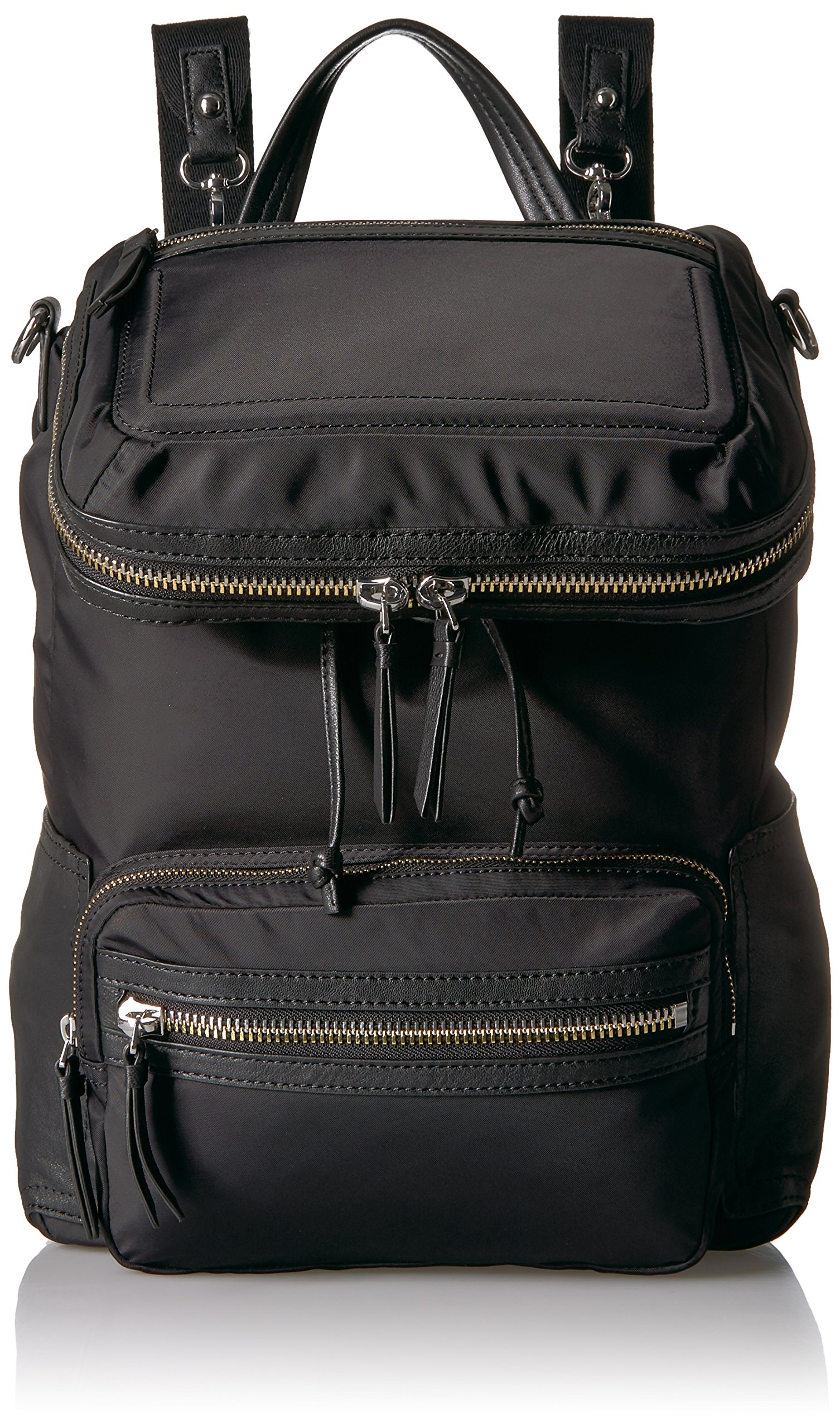 Vince Camuto Patch Nylon Backpack Backpack, NERO, One Size