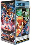 Pokemon Card XY10 BREAK Booster Pack 153 Cards (30 Packs +3 Additional Cards) + 3 Card Shields Fates Collide(Awakening Psychic King) Korea Version TCG