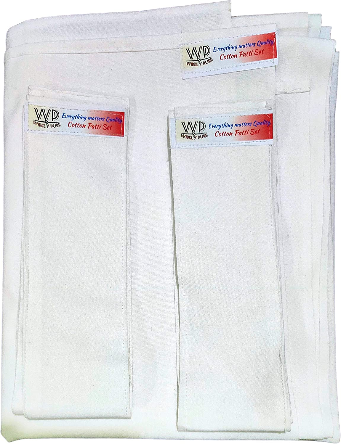 Widely Pure Natural wet pack cotton Patti for body detox head neck abdominal sattvic