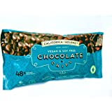 48% Cocoa Vegan Chocolate Chips Soy Free Dairy Free Kosher for Passover Gluten Free Nut Free 8 oz. bags … (3 Pack)