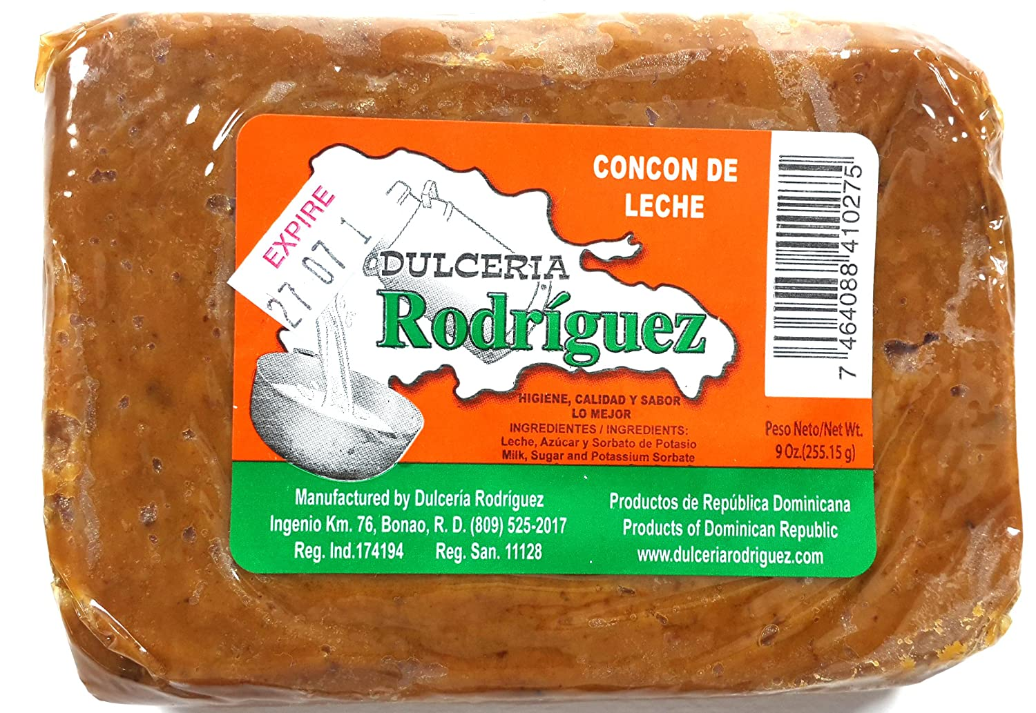 Amazon.com : Dominican Sweet Dessert Milk Dulce Concon Leche 3 Pack : Grocery & Gourmet Food