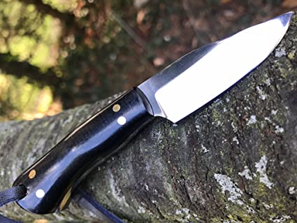 Amazon.com: Perkin – Cuchillo de caza hecho a mano ...