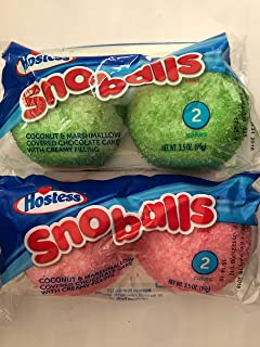 product image for Hostess Sno Balls 6 full size packs 2 cakes per package