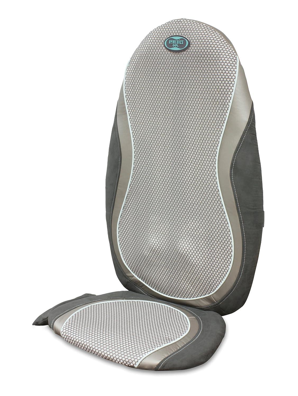 massage chair pad amazon. homedics shiatsu smooth natural touch back massager with technogel: amazon.co.uk: health \u0026 personal care massage chair pad amazon