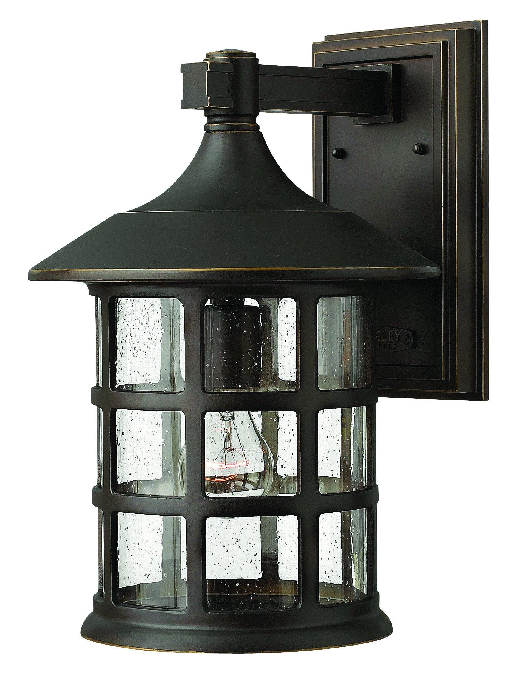 Hinkley Lighting 1805OZ Freeport 1-Light Outdoor Light, Oil Rubbed Bronze by Hinkley