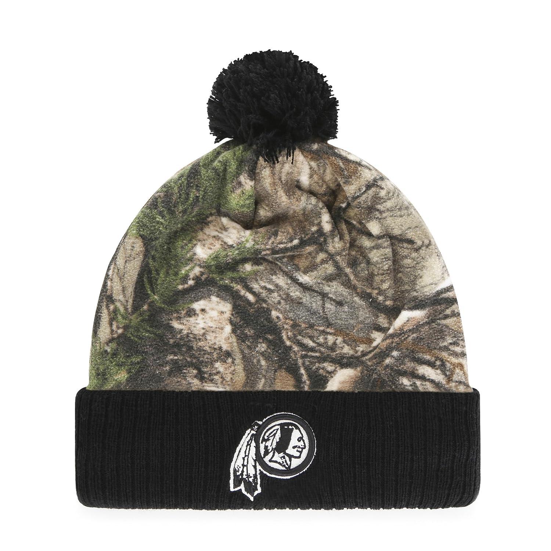 NFL Greyson OTS Cuff Knit Cap with Pom、1サイズ B071W1TVPP One Size Carolina Panthers One Size