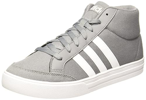 adidas neo Men s Vs Set Mid Grethr Ftwwht Ftwwht Sneakers - 7 UK ... 91c39c6adc3