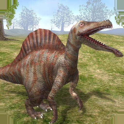 The Life of Spinosaurus - Dinosaur Survivor 3D (Shark Games Online)