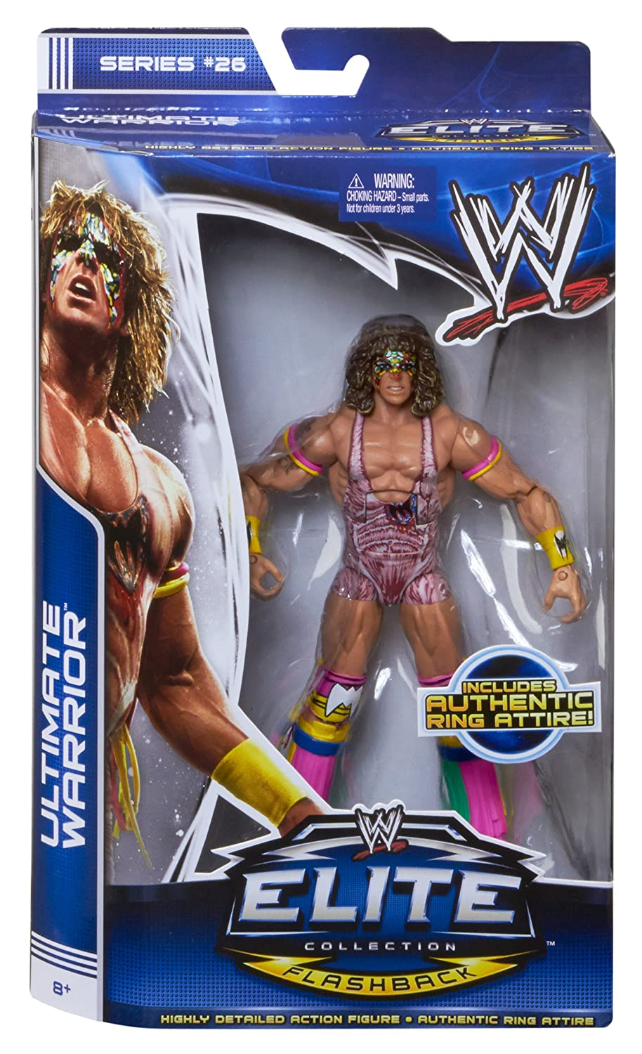 WWE Elite Collection Series 26 Ultimate Warrior Action Figure