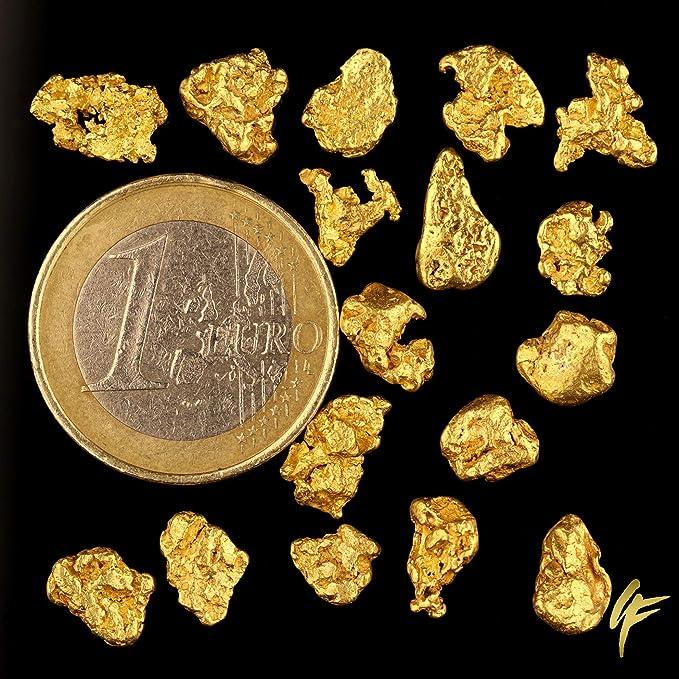 1 gramo de cuentas de oro de 20: Amazon.es: Electrónica