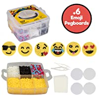 Deals on Emoji Smiley Face Fuse Beads 6 Emojis 3600pcs Beads