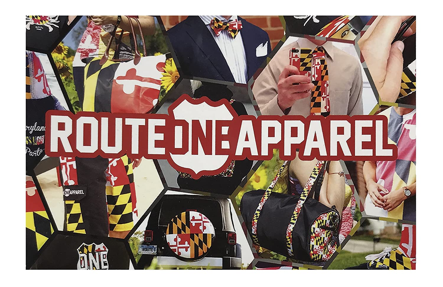 Maryland Flag Fanny Pack Route One Apparel