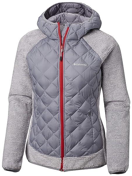 großer Verkauf neues Design einzigartiger Stil Columbia Jacke für Damen, Techy Hybrid Fleece, Polyester