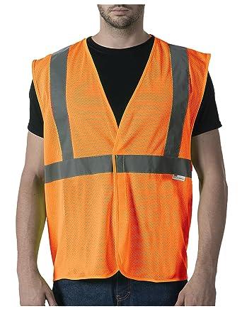 227fa9c39e96 Amazon.com  Walls Men s ANSI II Mesh Safety Vest  Clothing