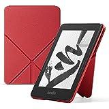 Custodia Amazon Origami in pelle per Kindle Voyage, Rosso