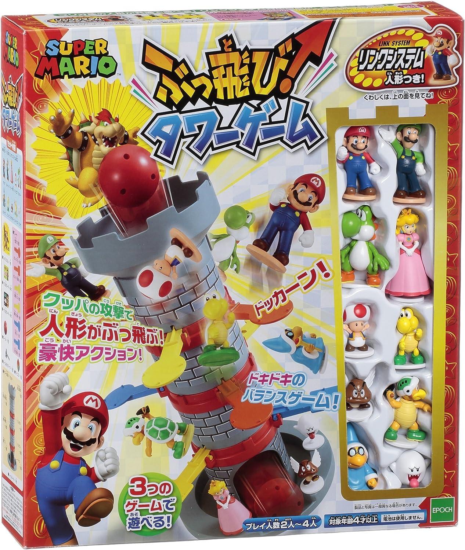 EPOCH Super Mario Buttobi Torre Juego: Amazon.es: Juguetes y juegos