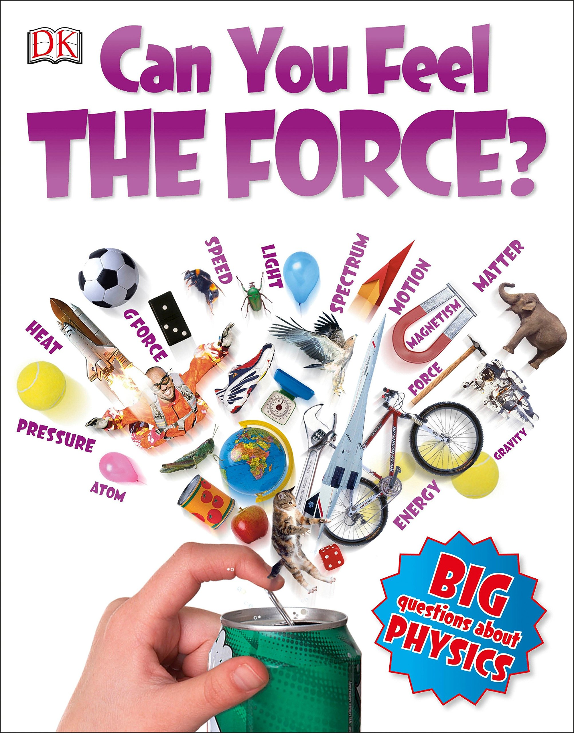 Can You Feel The Force Big Questions Richard Hammond Forces Grade 11 Physics 9781465439048 Books
