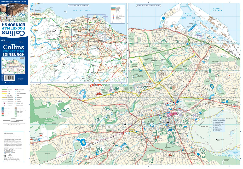 Edinburgh Pocket Map: The Perfect Way to Explore Edinburgh ...