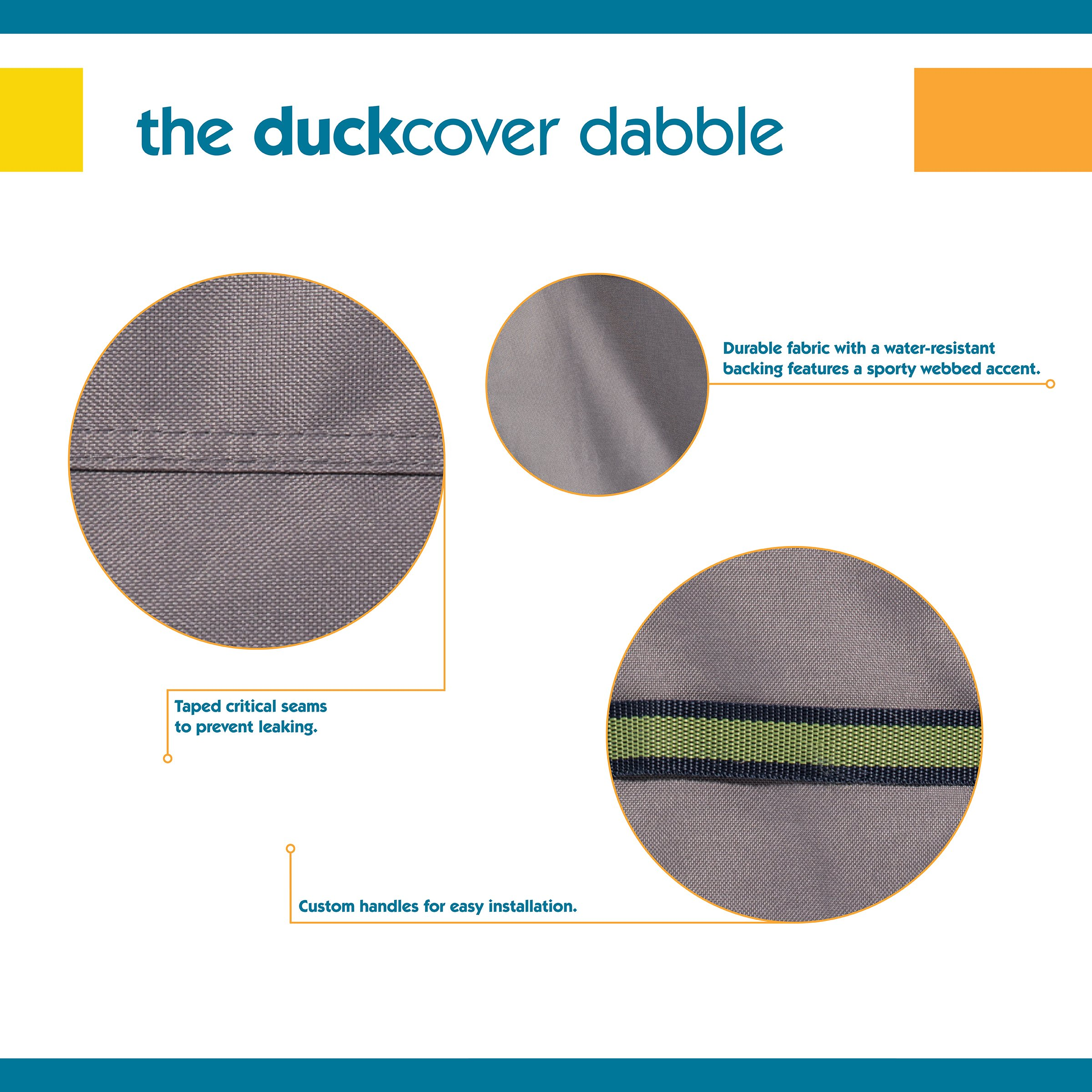 Duck Covers RUM10134 Soteria Patio Furniture Cover, 101'' by Duck Covers (Image #4)