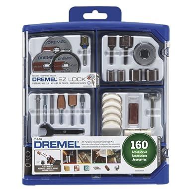 Dremel 710-08 All-Purpose Rotary Accessory Kit, 160-Piece