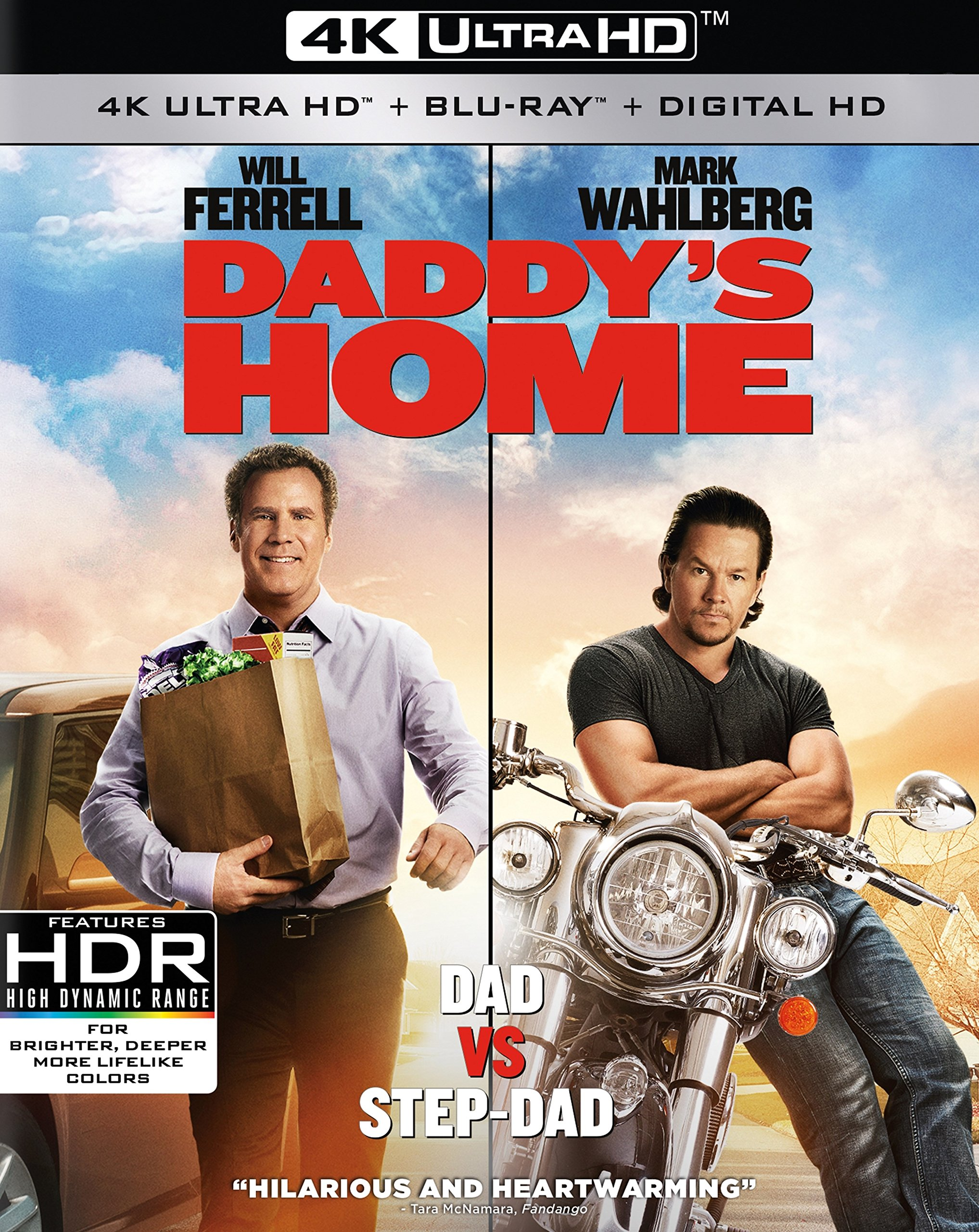 4K Blu-ray : Daddy's Home (4K Mastering, Widescreen, Amaray Case, 2 Pack, Dubbed)