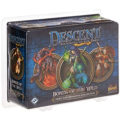 Descent Second Edition: Bonds of the Wild: Fantasy Flight Games: Toys & Games