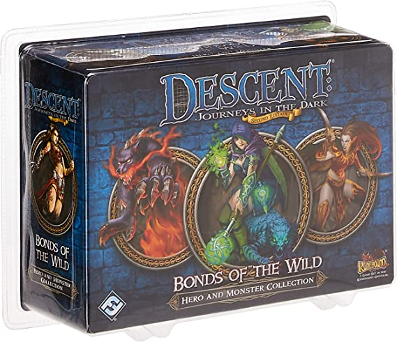 Descent: Bonds of the Wild Board Game Expansion: Fantasy Flight Games: Amazon.es: Juguetes y juegos