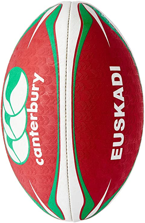 Canterbury Supporter Euskadi - Pelota de Rugby, Color (Blanc/Rouge ...