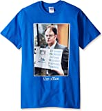 T-Line Men's The Office Tv Series Dwight Color Graphic T-Shirt