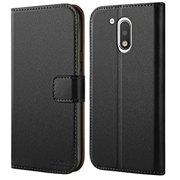 motorola g4 case. moto g4 case - hoomil premium leather for motorola / plus phone m