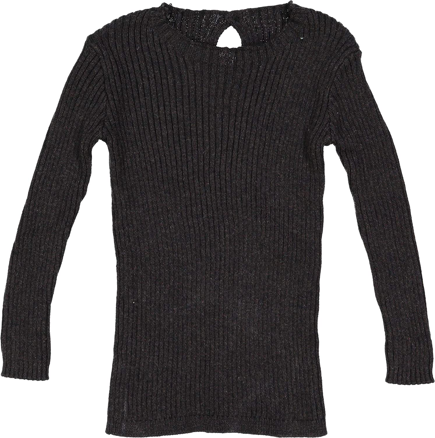 Analogie by Lil Legs Baby Boys Girls Unisex Winter Ribbed Knit Long Sleeve T-Shirt Sweater
