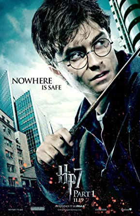 Harry Potter 7 Part 1 Movie Poster Photo 8 Inch X 10 Inch