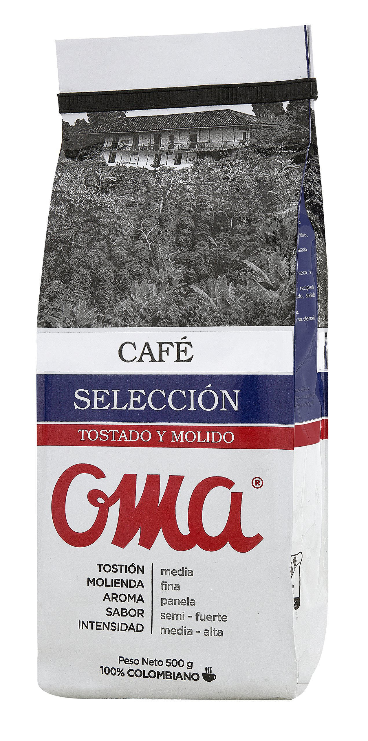 OMA Roast and Ground Coffee Special Selection 100% Colombian Coffee/Cafe OMA Tostado y Molido