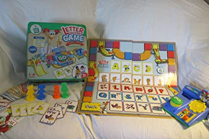 Amazon.com: LEAPFROG LETTER FACTORY GAME   COLLECTOR'S EDITION IN